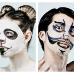 Japanese Face Face Masks Animal Kabuki