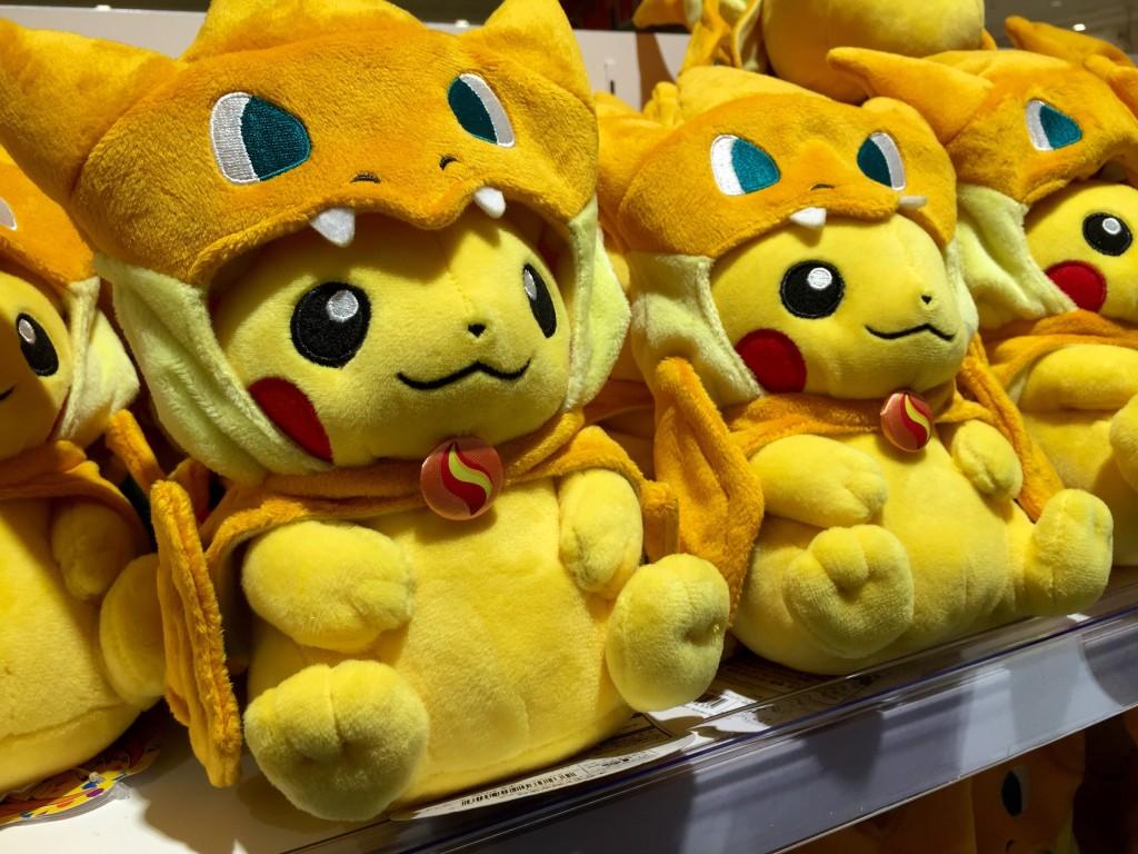 pokemon center tokyo ikebukuro exclusive pikachu plush