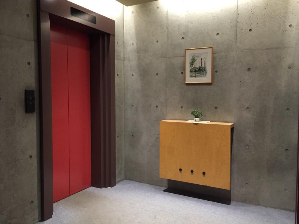 rasso iceberg hotel lift lobby