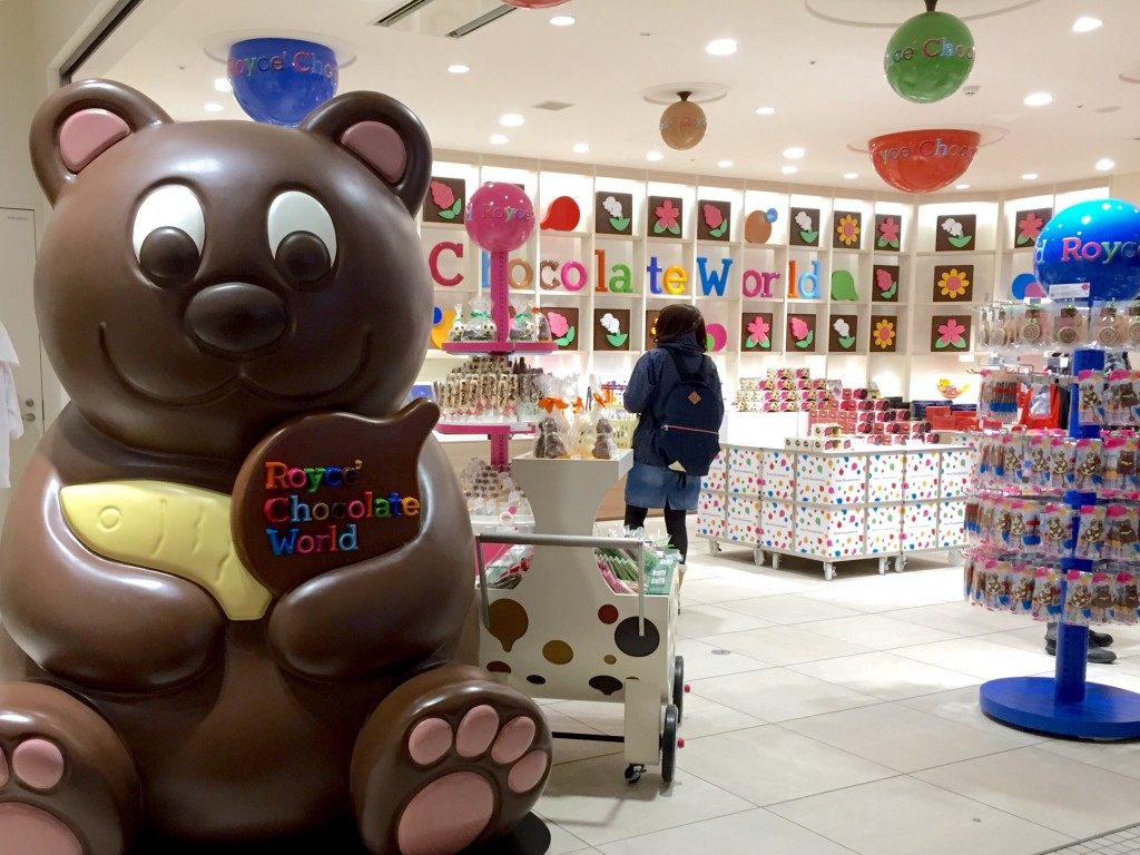royce chocolate world shop new chitose airport