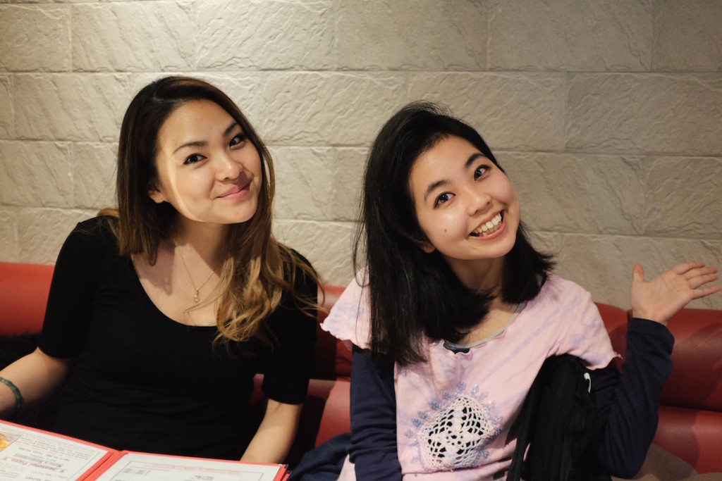 Ayaka and Shiori at Devilcraft