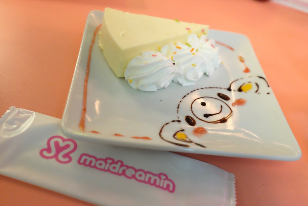 maidreamin cheesecake