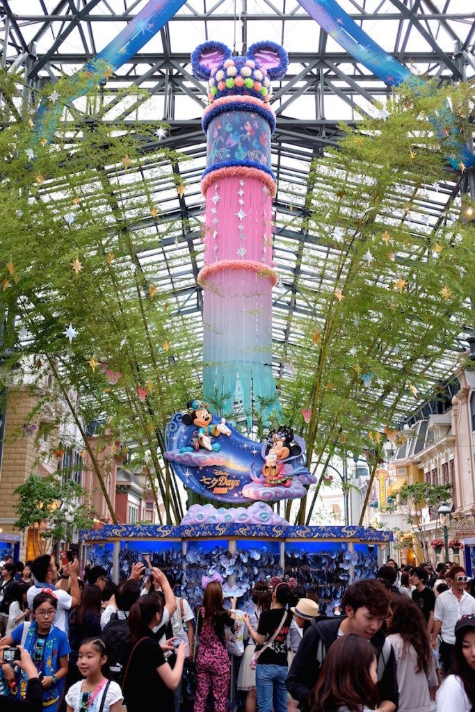 disneyland tanabata decorations