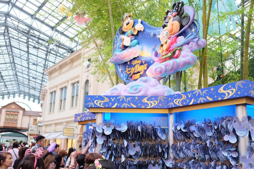disneyland tanabata decorations 2