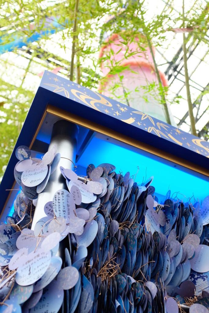 disneyland tanabata display 2