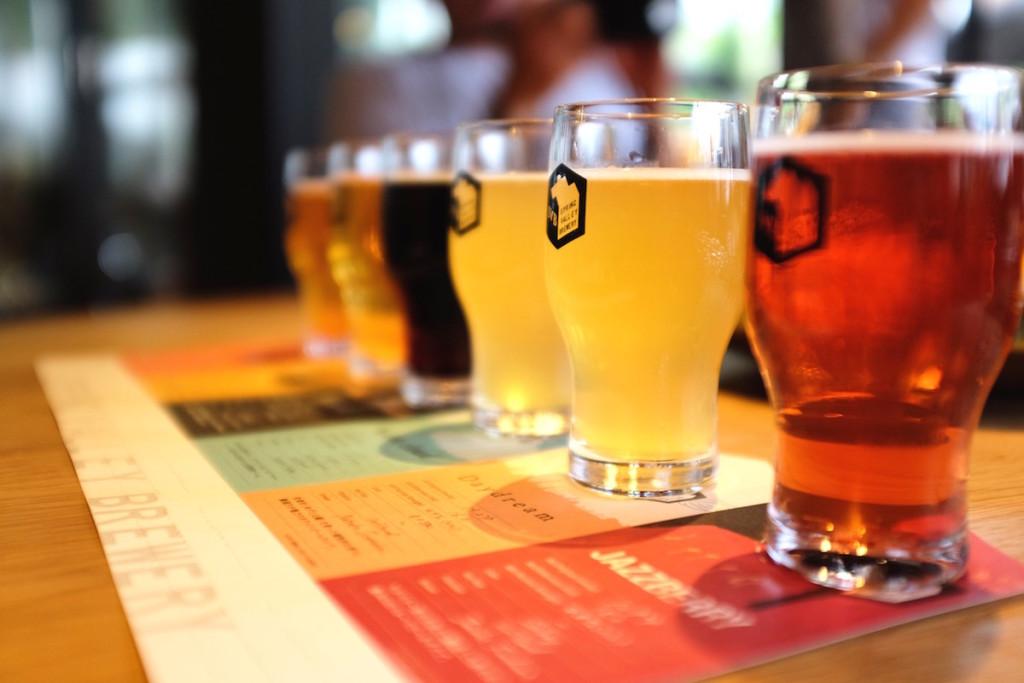 the beer sampler