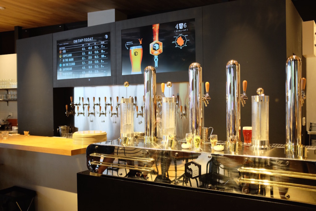spring valley brewery beer taps