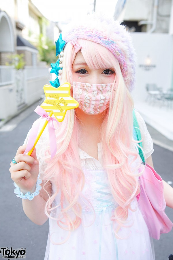 japanese girl fashion mask