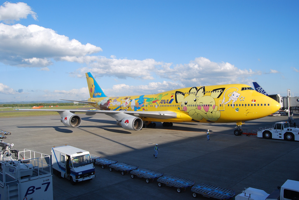 Pokemon Plane | Avión Pokemón
