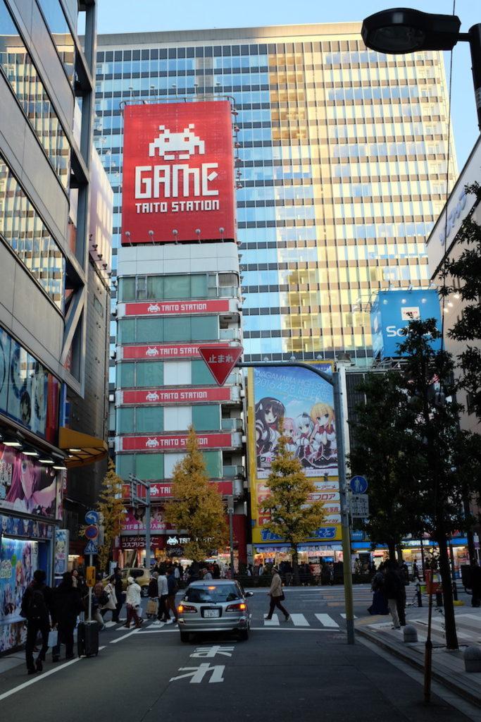 taito game station akihabara