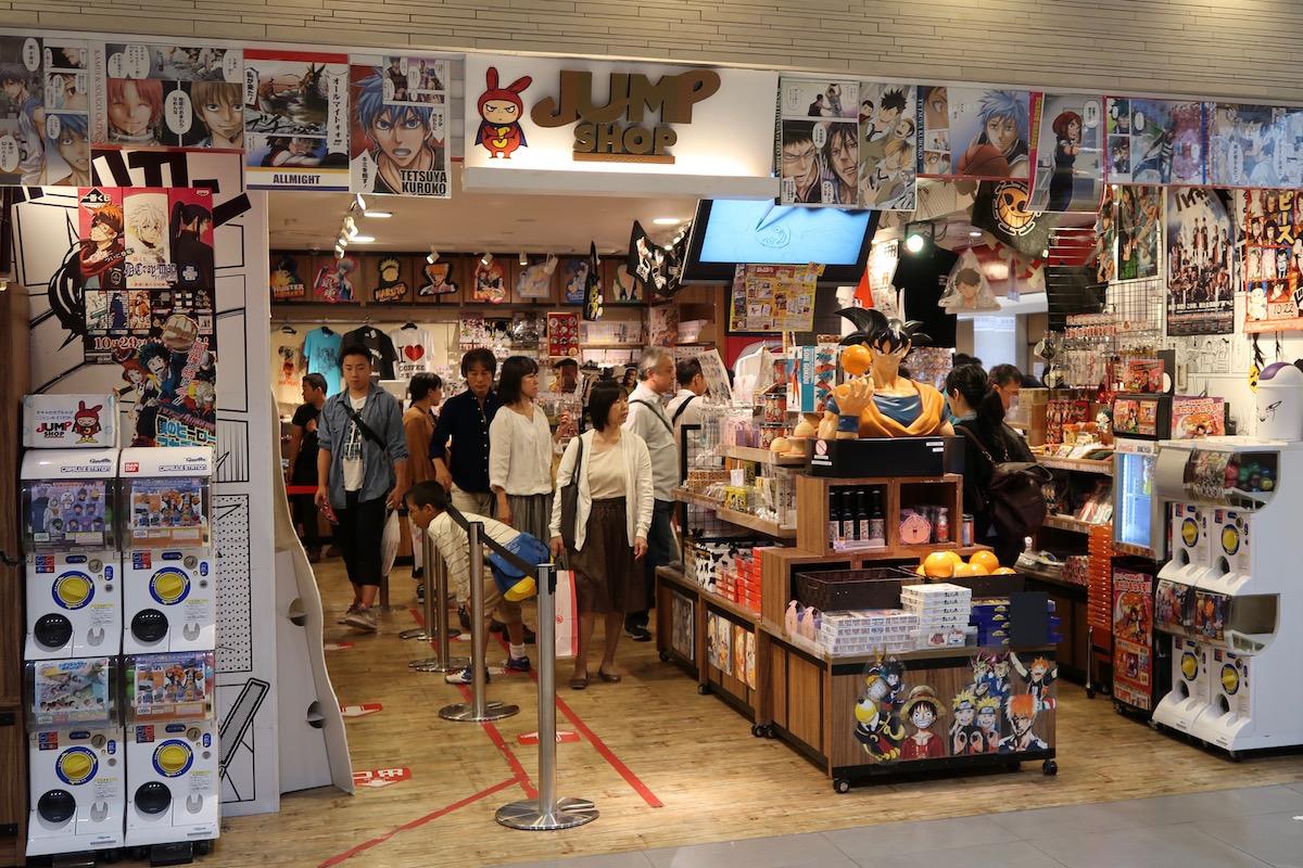 jump shop tokyo
